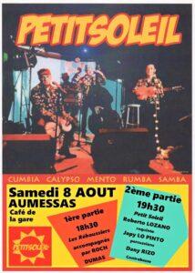 Petit Soleil (chansons latino) @ la gare