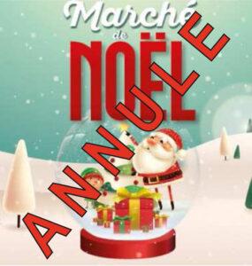 ANNULATION Marché de Noël